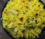 One Pot Spicy Chicken Rice