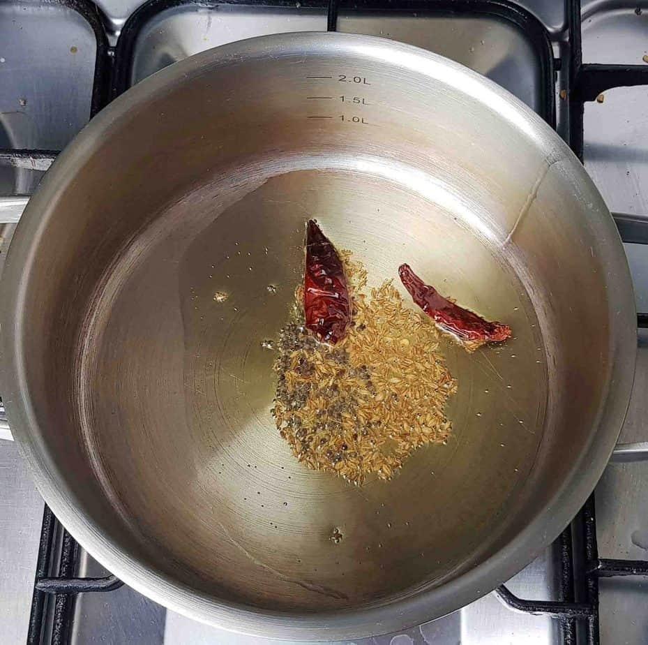 Mixed Vegetable & Coconut Stir Fry