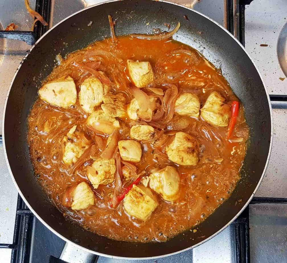Lemon Chicken, Punjabi Style